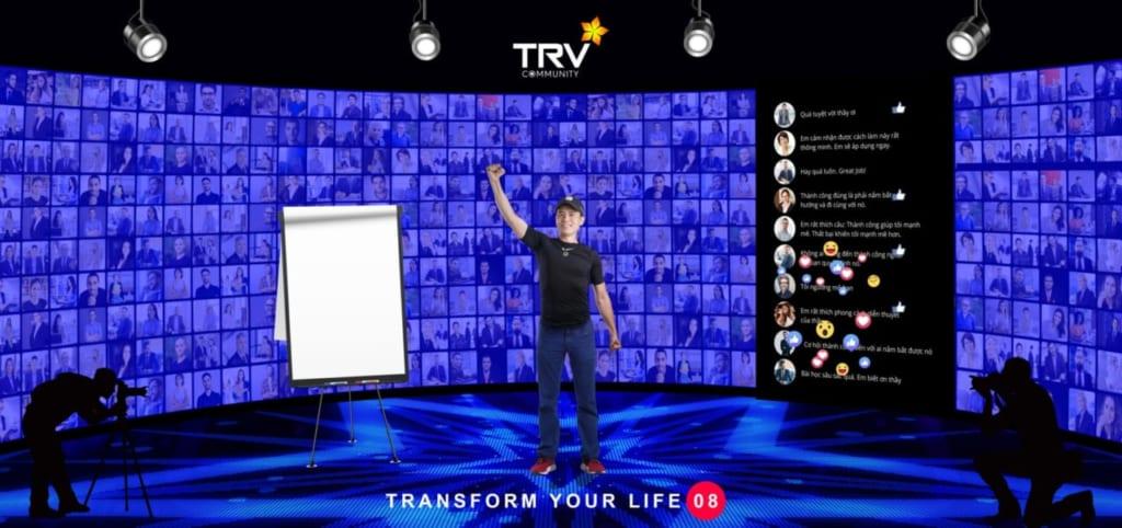f72457e5cfa038fe61b1 1024x482 Phần mềm Ninja tặng vé sự kiện Transform your life 08 quy mô 10.000 người