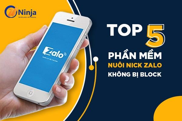 phan mem nuoi nick zalo Top 5 phần mềm nuôi nick zalo không bị Block