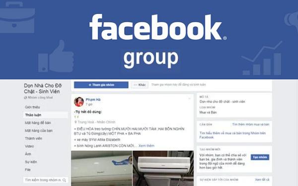 cách bán hàng hiệu quả trên Group Facebook