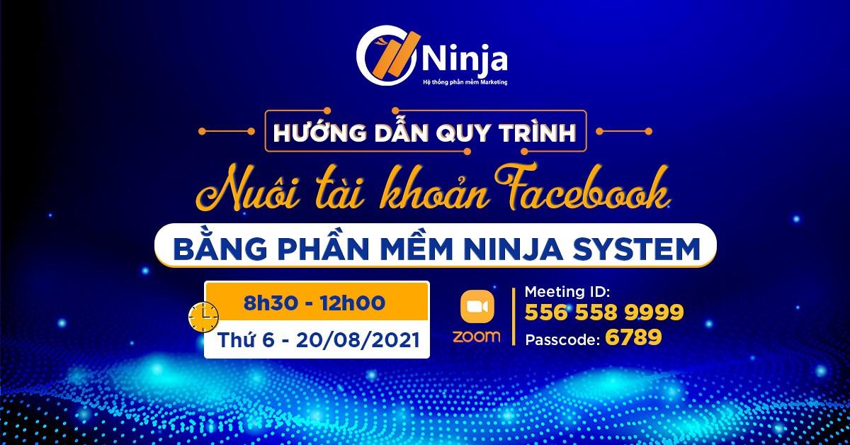nuoi tai khoan facebook bang phan mem Đào tạo: Nuôi tài khoản Facebook bằng phần mềm Ninja System