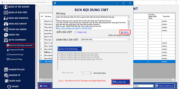 tao noi dung auto comment group facebook 1 Tool auto comment group facebook 2021 tự động, chuyên nghiệp