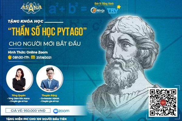 than so hoc pytago 600x400 1 Ninja tặng 100 vé khóa học online 5000 người tham dự: Giải mã cuộc đời cùng Số học Pythagoras