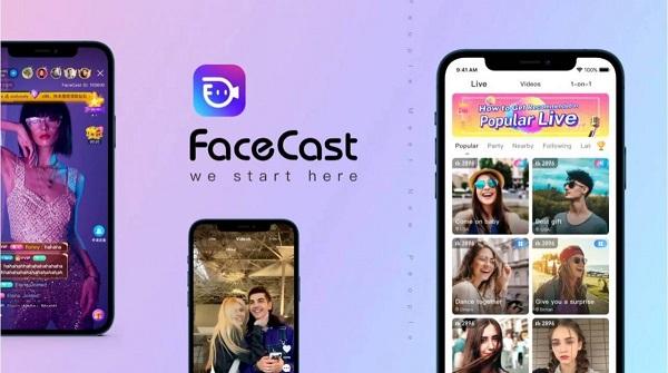 app facecast TOP app livestream kiếm tiền, bán hàng hiệu quả 2021