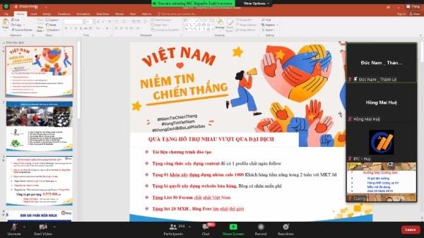 marketing 0 dong vuot dich 2 Ninja đào tạo thành công Marketing 0 đồng vượt dịch trong chuỗi sự kiện đột phá doanh thu mùa dịch