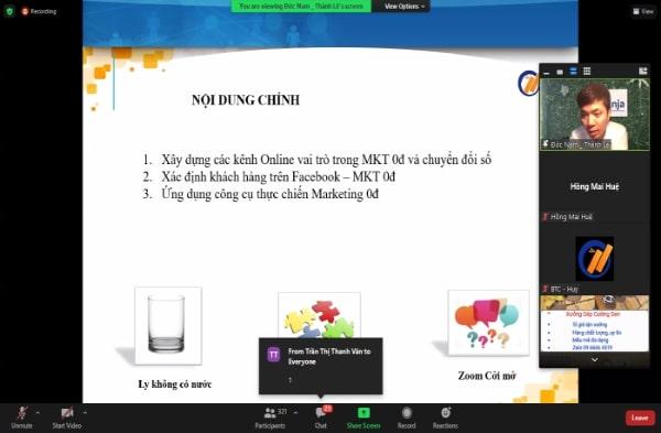 marketing 0 dong vuot dich 4 Ninja đào tạo thành công Marketing 0 đồng vượt dịch trong chuỗi sự kiện đột phá doanh thu mùa dịch