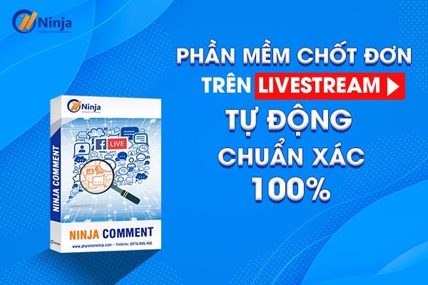phan mem chot don tren livestream Phần mềm chốt đơn trên livestream tự động, chuẩn xác 100%