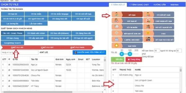 phan mem ket ban facebook 4 Phần mềm kết bạn Facebook, auto kết bạn facebook hàng loạt 2021