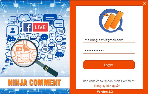 phan mem loc comment1 1 Phần mềm chốt đơn trên livestream tự động, chuẩn xác 100%