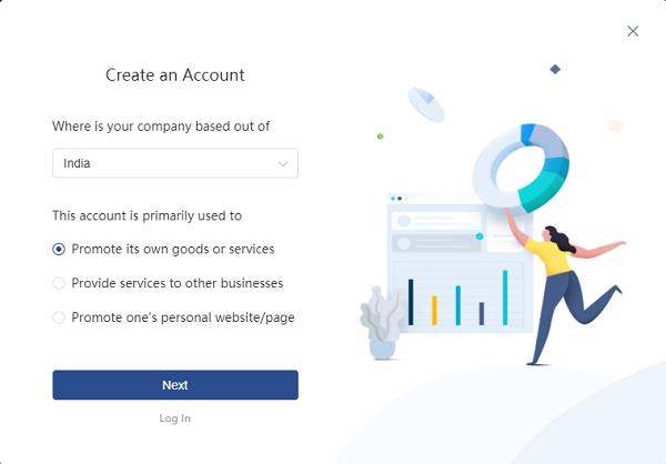 create account tiktok 1 Hướng dẫn chạy quảng cáo tiktok hiệu quả cho người mới bắt đầu