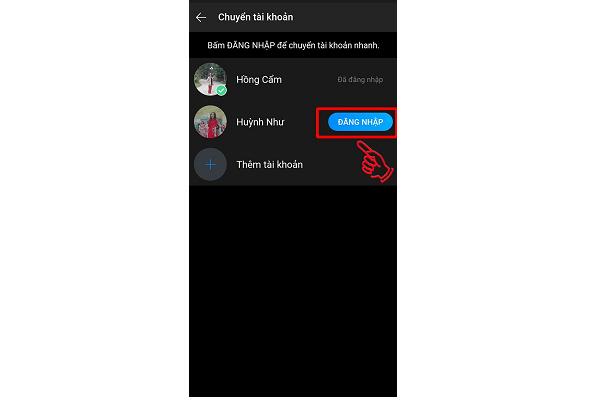dang nhap nhieu nick zalo6 Hướng dẫn đăng nhập nhiều tài khoản zalo trên máy tính và điện thoại